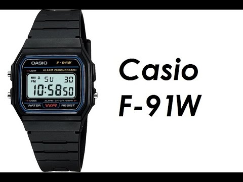 0d4bc66cf Casio F-91W - Digital Watch Review - YouTube