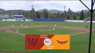 Roseburg Indians Baseball vs  Willamette Wolverines (GM 2 - 4/14/18)