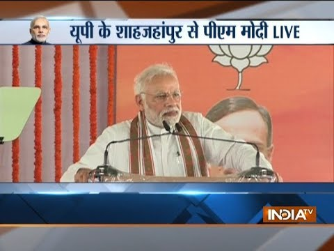 Rahul Gandhi can see nothing but PM's chair: PM Modi in Shahjahanpur