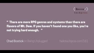 161: Picking a Genre and System for Your Roleplaying Game — Being Unplugged