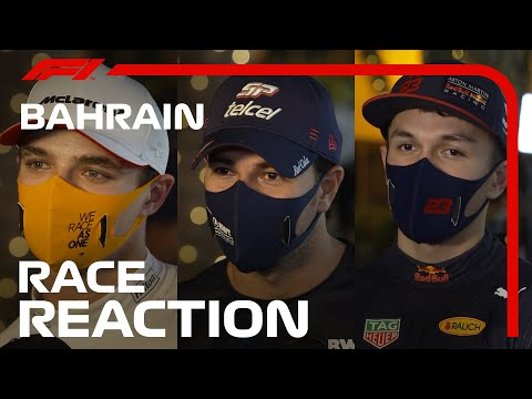 2020 Bahrain Grand Prix: Drivers' Post-Race Reaction