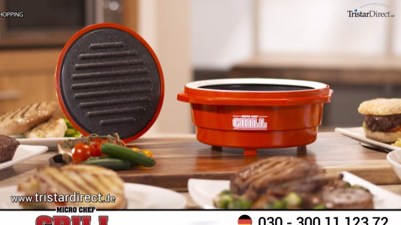 das neue mikrowellen kochsystem der micro chef grill. Black Bedroom Furniture Sets. Home Design Ideas