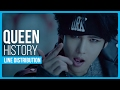 Download History - Queen Line Distribution (Color Coded) MP3 song and Music Video