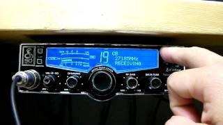 cobra 29lxle detection demomode !! CB RADIO