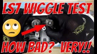 LS7 Valve Wiggle Test Results at 9k Miles - BAD NEWS