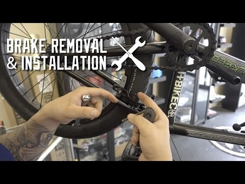 HOW TO REMOVE AND INSTALL BRAKES!