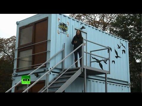 Кризис переселяет британцев в грузовые контейнеры