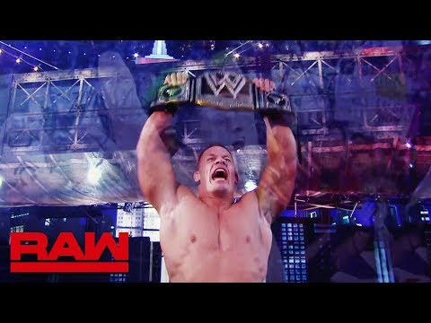 John Cena announced for the WWE World Cup at WWE Crown Jewel: Raw, Oct. 8, 2018