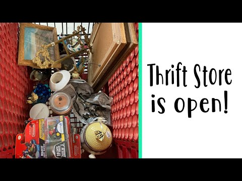The Thrift Store Is OPEN! & 50% OFF!!  / Vintage & Antiques for Resale!
