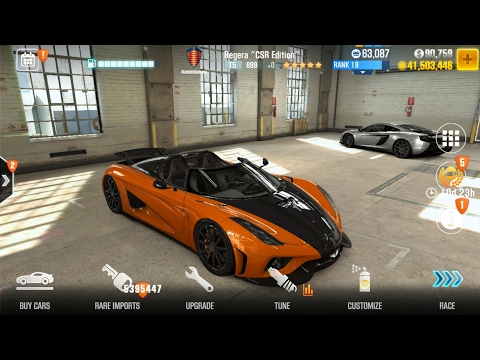 get unlimited coins and keys Csr racing 2