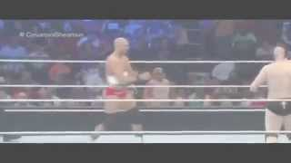 Wwe Smackdown 3 september 2015 Sheamus vs Cesaro