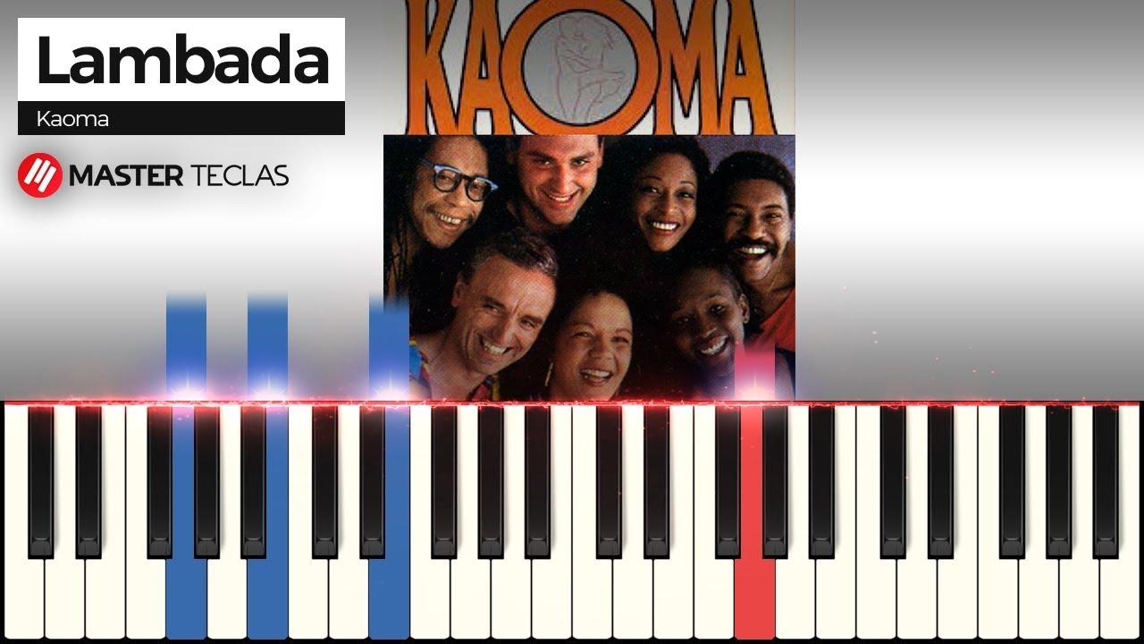 Lambada Chorando Se Foi Kaoma Piano Tutorial Youtube