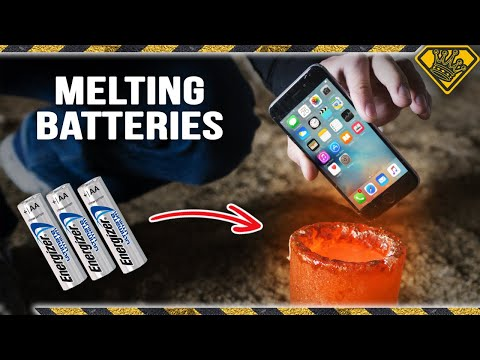Don't Put Lithium Batteries in Liquid Metal