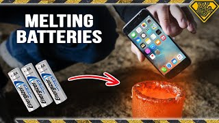 Melting Batteries in Liquid Metal
