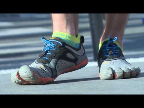 Running minimaliste : Courir du bon pied  - #barefooting #FiveFingers