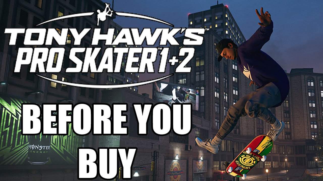 Tony Hawk's Pro Skater 1 + 2 - 14 Things You Need To Know Before You Buy - GamingBolt