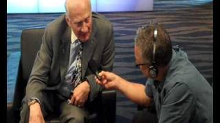 Graeme Hill interview with Buzz Aldrin for RadioLIVE