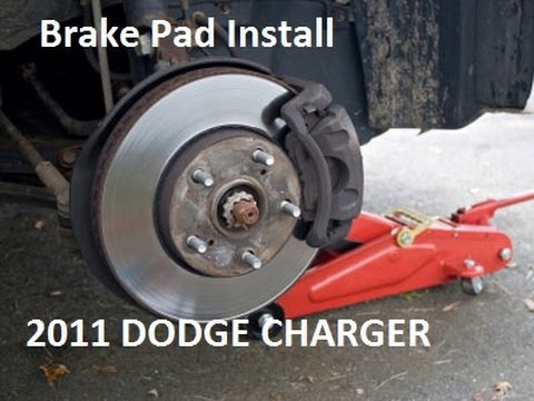 Dodge Charger Front Ke Pad Replace Install