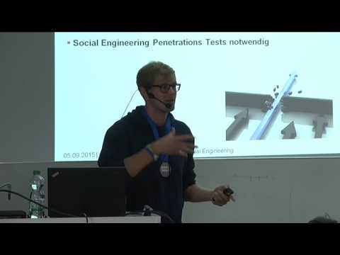 David Kelm: Social Engineering und Industriespionage