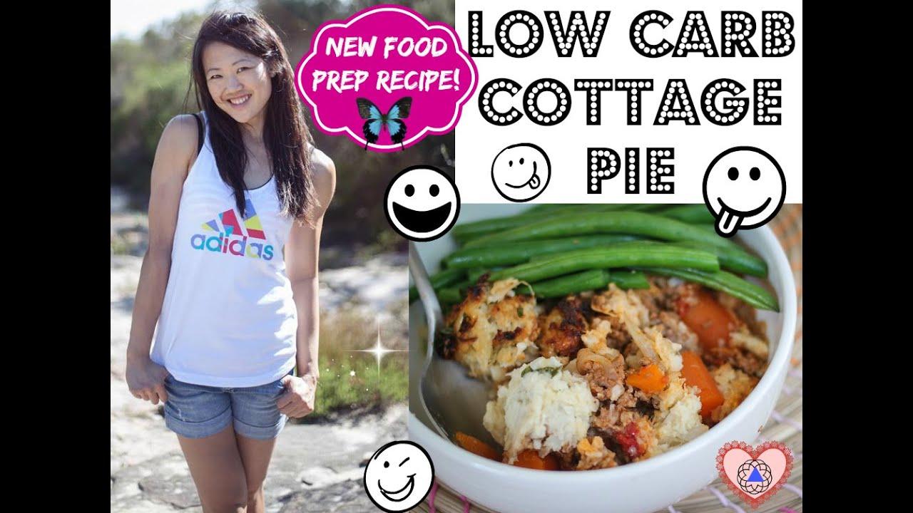 Food Prep Recipe Low Carb Cottage Pie Clean Eating