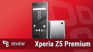Smartphone Sony Xperia Z5 Premium [Review] - TecMundo