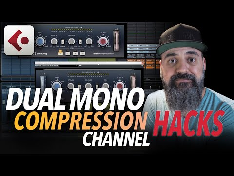 DUAL MONO Compression Channel HACKS in CUBASE