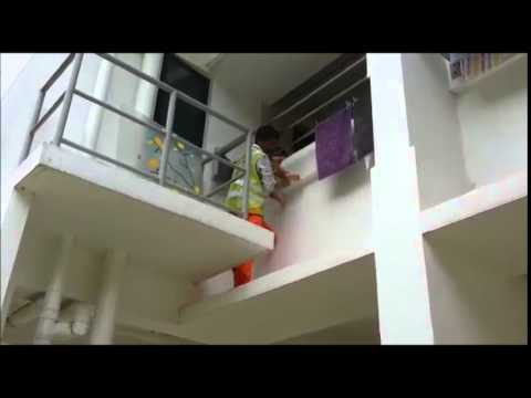 Indian-origin workers rescued toddler hanging from Windows ledge in Singapore