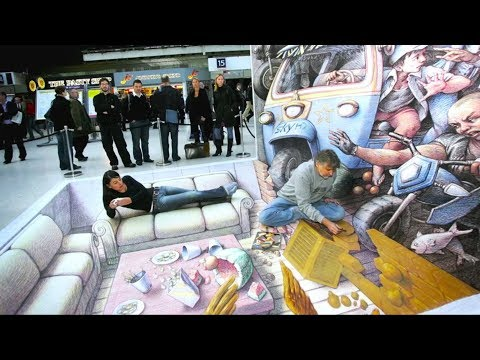 3D Creartive & Amazing Street Art are Around The world
