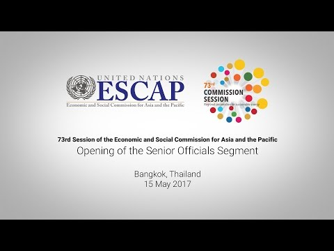 CS73: Opening of the Senior Officials Segment