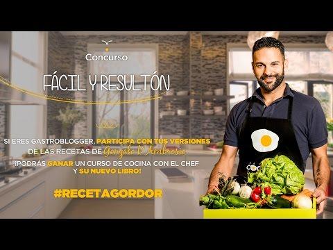 ¿Quieres conocer al chef Gonzalo D'Ambrosio?