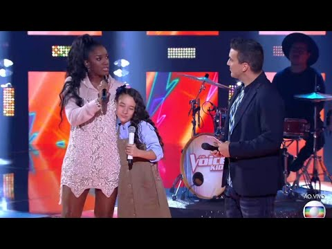 IZA canta na final do The Voice Kids