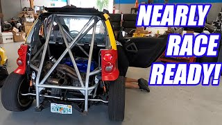 Repairing Our Wrecked Turbo-K Smartcar Ep.2 Our Monster Miata's Ready To Run its Fastest Time EVER