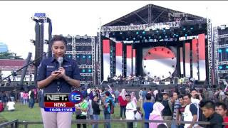 live report jelang konser kemerdekaan di senayan net16