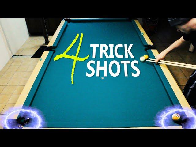 4 Pool Trick Shots: Volume 6