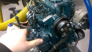 Kubota D722-E  Start and run   Project engine pt.3