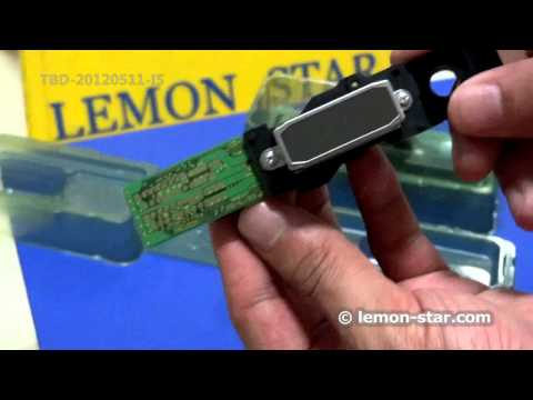how to clean clogged head on epson nx420
