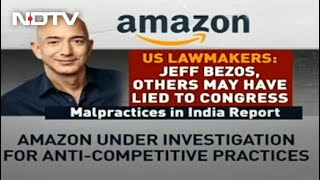 Amazon Accused by US Lawmakers of Possibly Lying About Its Practices to Congress