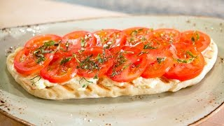 Grilled Tomato Flatbread