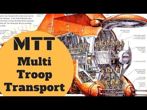 COMPLETE BREAKDOWN - MTT Multi-Troop Transport Lore - Star Wars Canon & Legends Explained
