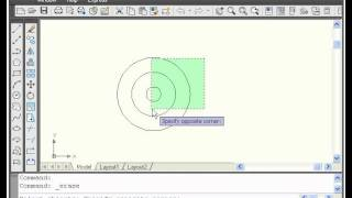 AutoCAD Basics Online Beginners Quick Video Tutorial Lessons - 2A