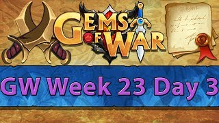 ⚔️ Gems of War Guild Wars | Week 23 Day 3 | Purple Purple Spam ⚔️