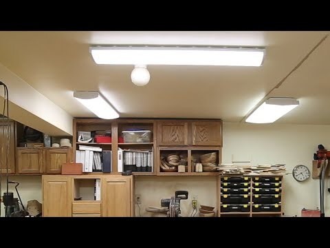 replacing-fluorescent-lights-with-new-led