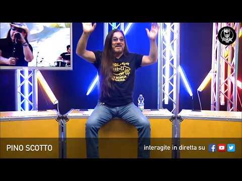 PINO SCOTTO 🔥 LIVE SU ROCK TV 🤘🏻📲 24 APRILE 2018