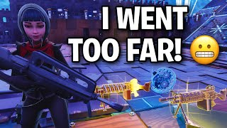 I trolled a scammer and it went too far! 😬😂 (Scammer Get Scammed) Fortnite Save The World