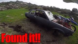 FOUND MY FRIENDS STOLEN CAR!