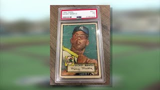 Arrest made after rare baseball card stolen from shop in Delaware County