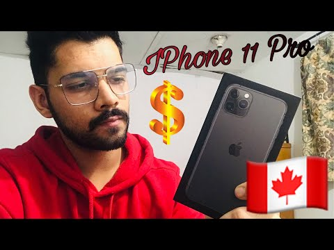 IPhone 11 Pro| How International Students Buy Expensive Phones In Canada| Black Friday