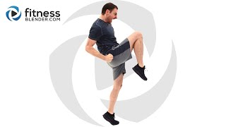 30 Minute Cardio Kickboxing and Abs Workout - At Home Abs and Cardio Workout