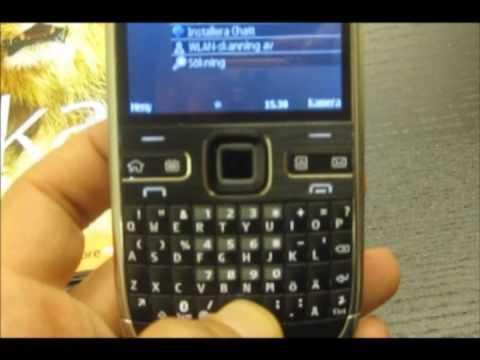 Nokia E72 review / demo (short version)