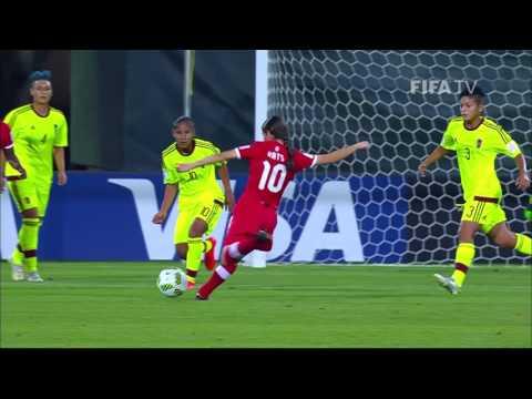 Match 19: Canada v Venezuela  FIFA U17 Women's World Cup 2016